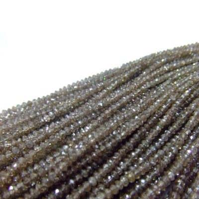 Brown Diam Beads 1